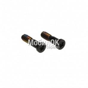 Шурупы для Apple iPhone 5/ 5S черные, 2 шт., внешние (нижние)