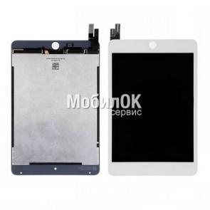 Дисплей для Apple iPad Mini 4 белый, с тачскрином, High Copy