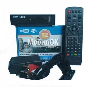 ТВ-ресивер (тюнер) DVB-T2 Terrestrial для цифрового телевидения