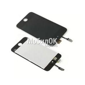 Дисплей для Apple iPod Touch 4G с тачскрином, черный