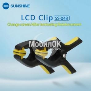Прищепка для склеивания дисплеев, экранов, тачскринов и стекол (SS-048)