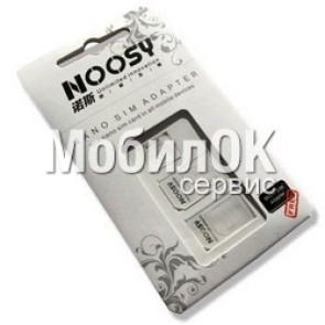 Sim адаптер 3 в 1 для iPhone Micro, Nano белый, черный NOOSY