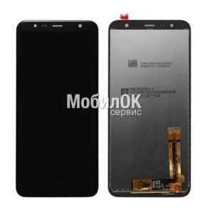 Дисплей для Samsung J610 Galaxy J6 Plus (2018)/J415 Galaxy J4 Plus черный, с тачскрином China Origin