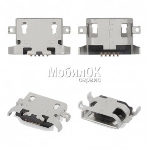 Коннектор зарядки для Lenovo A360/A630/A820/A830/A850/P780/S650/S720/S820/S6000